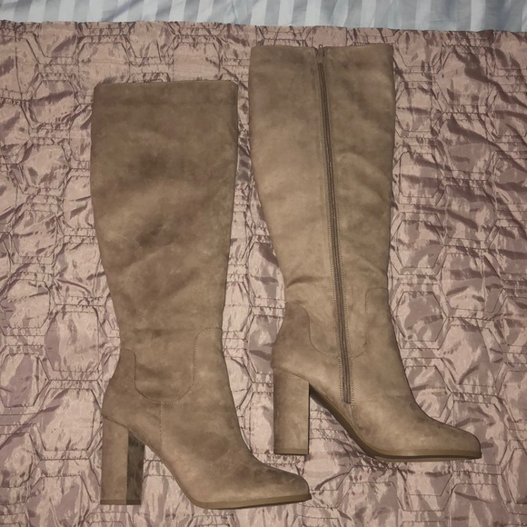 Madden Girl Shoes - Madden Girl Klash Taupe Fab Boot